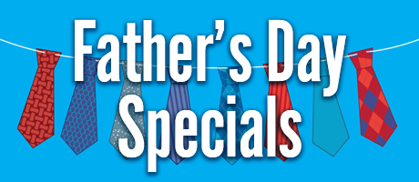 Father's Day Menu Specials