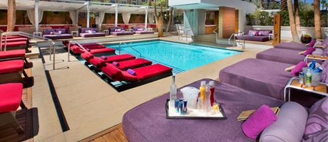 Pool Cabanas in Las Vegas at Green Valley Ranch