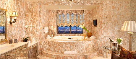 Bathroom of the Penthouse Suite in Las Vegas at Green Valley Ranch