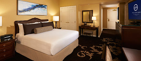 Deluxe King Bed Hotel Rooms in Las Vegas