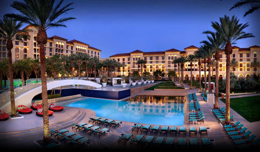 Luxury Pool at Green Valley Ranch Resort and Spa Casino Background