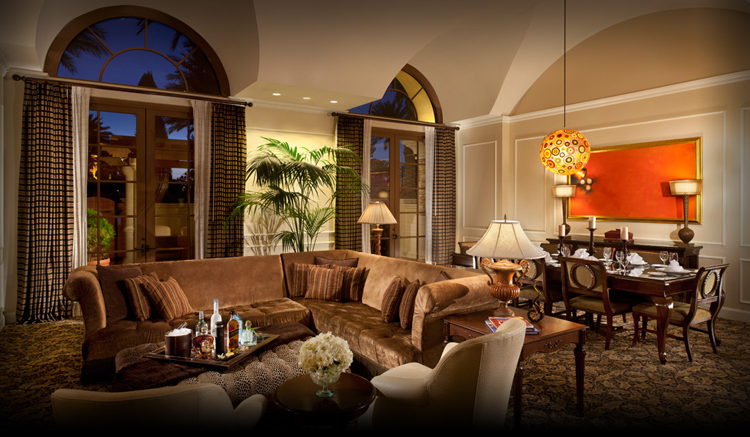 The Mediterranean Suite in Las Vegas at Green Valley Ranch
