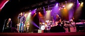 Huey Lewis on stage at Green Valley Ranch Grand Event Center
