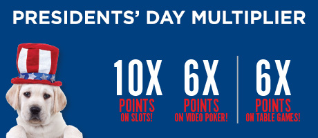 Presidents' Day Multiplier