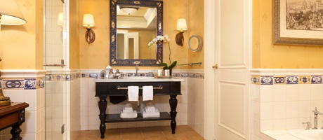 Bathrooms in the Executive Suite at GVR