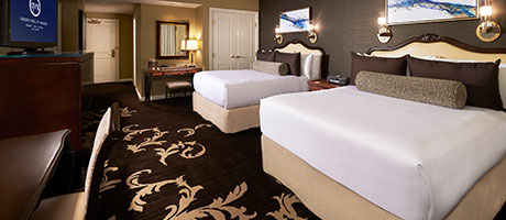 Deluxe Double Queen Hotel Rooms in Las Vegas at Green Valley Ranch